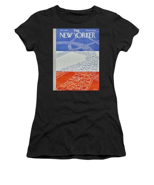New Yorker July 4 1959 Women's T-Shirt