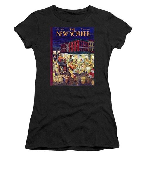 New Yorker November 23 1957 Women's T-Shirt