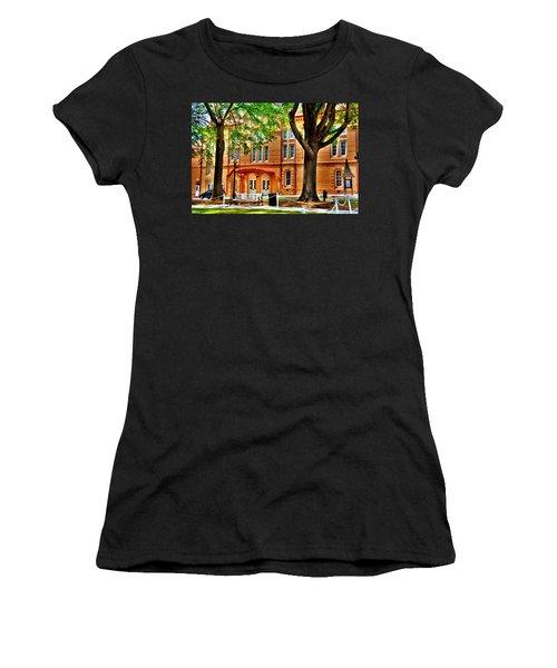 Women's T-Shirt featuring the photograph Newberry Opera House Newberry Sc by Lisa Wooten