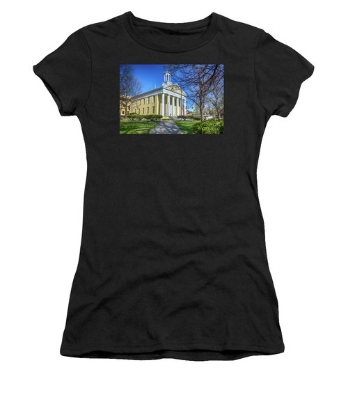 Newburgh Courthouse On Grand Street 1 Women's T-Shirt (Athletic Fit)