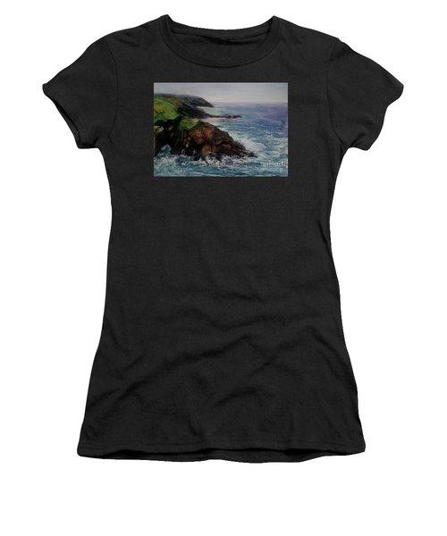 Newlyn Cliffs 2 Women's T-Shirt