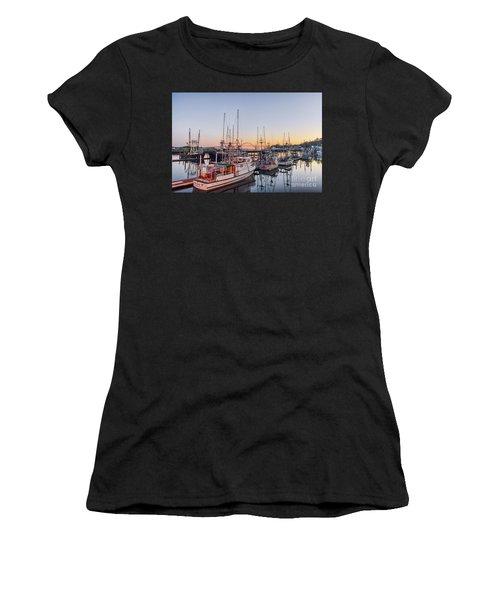 Newport Harbor At Dusk Women's T-Shirt