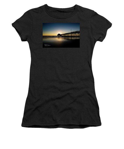Newport Pier Women's T-Shirt