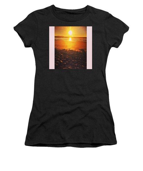 Nice Glow To The Beach. #beach #sunset Women's T-Shirt