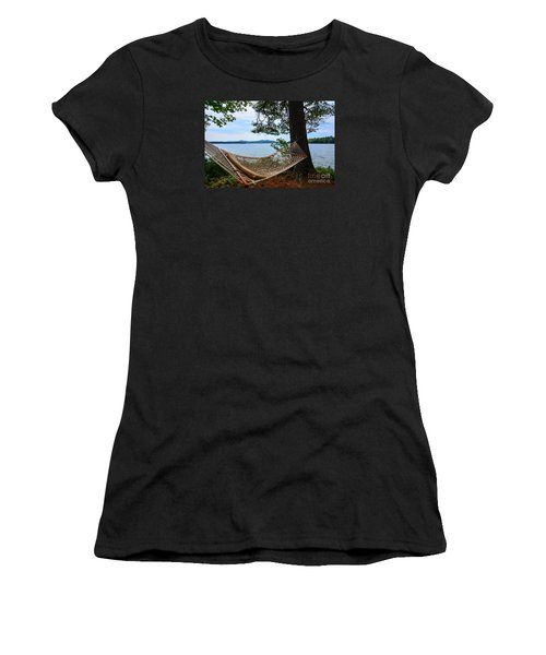 Nice Spot For A Nap Women's T-Shirt (Athletic Fit)