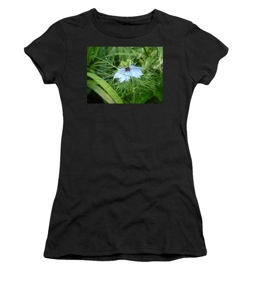 Nigella In Spring Rain Women's T-Shirt (Athletic Fit)