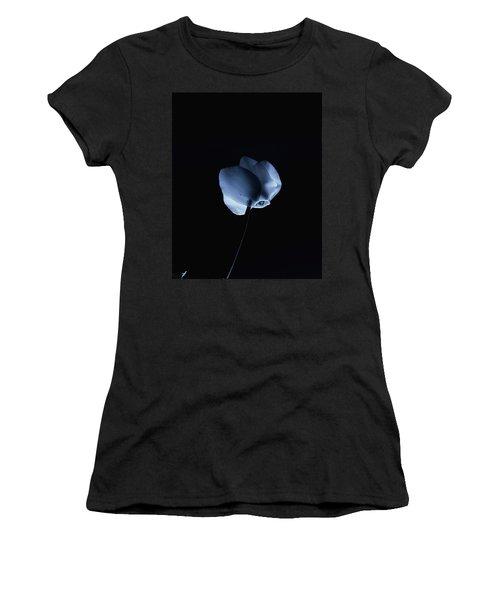 Night And A Blue Light Women's T-Shirt