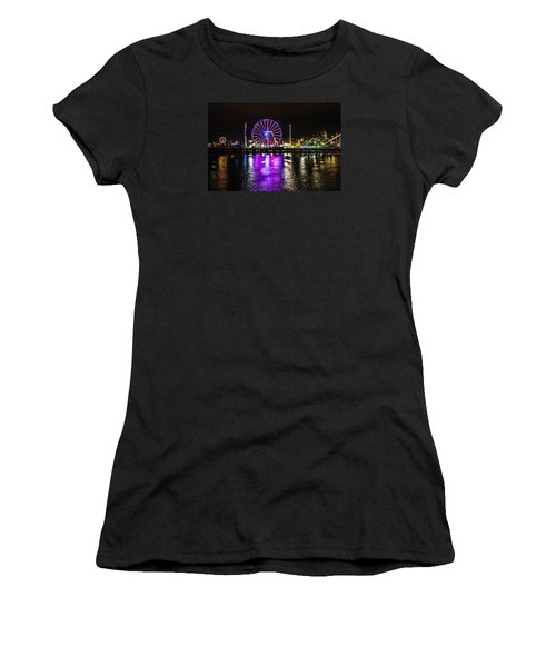 Night At The Carnival Women's T-Shirt (Athletic Fit)