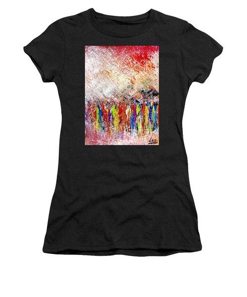 Night Covers Us Women's T-Shirt