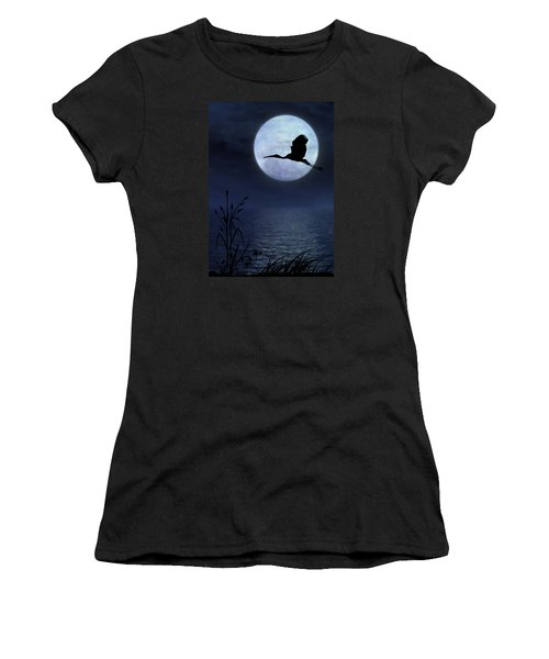 Night Flight Women's T-Shirt (Athletic Fit)
