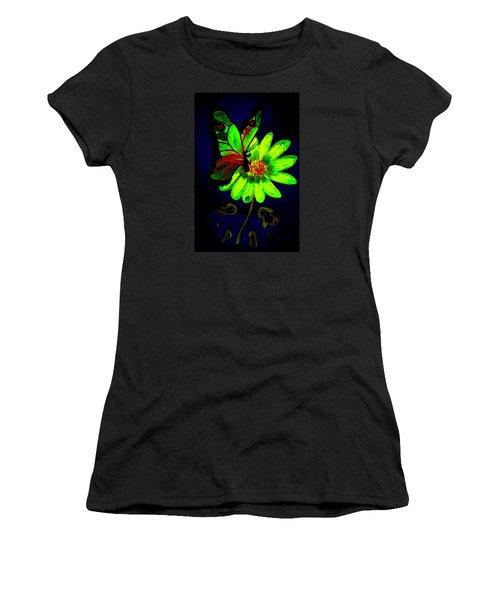 Night Glow Women's T-Shirt (Junior Cut) by Maria Urso