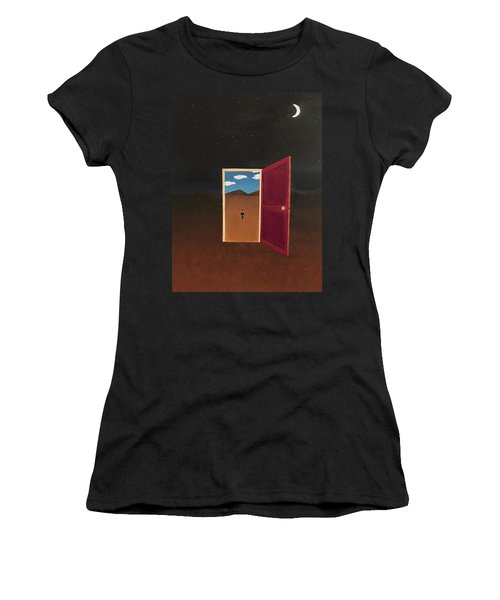 Night Into Day Women's T-Shirt (Athletic Fit)