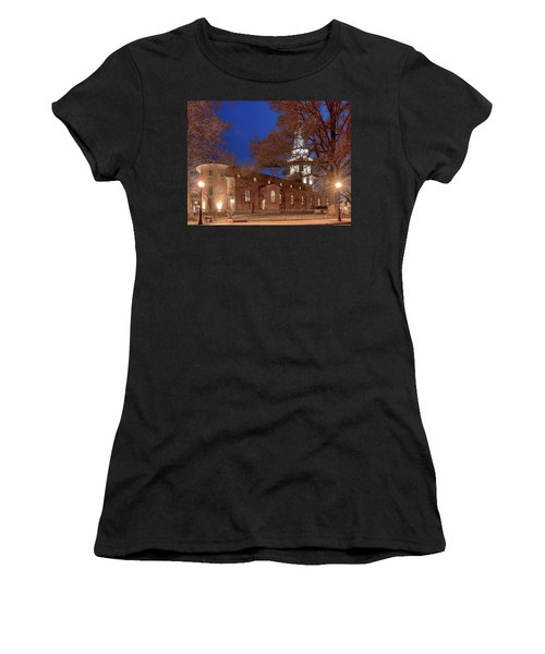Night Lights St Anne's In The Circle Women's T-Shirt (Athletic Fit)