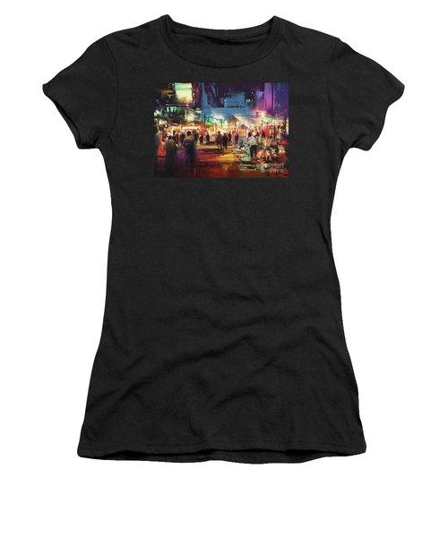 Night Market Women's T-Shirt