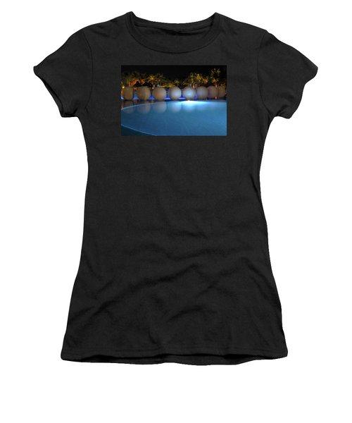 Night Resort Women's T-Shirt (Athletic Fit)