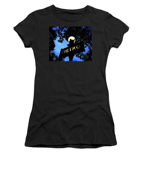 Night Ride Women's T-Shirt (Athletic Fit)