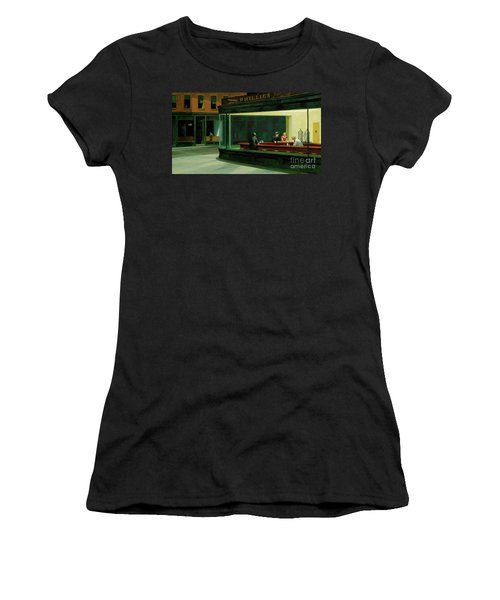 Nighthawks New Women's T-Shirt (Athletic Fit)