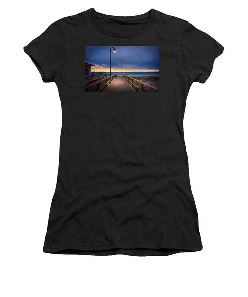Nighttime Walk. Women's T-Shirt