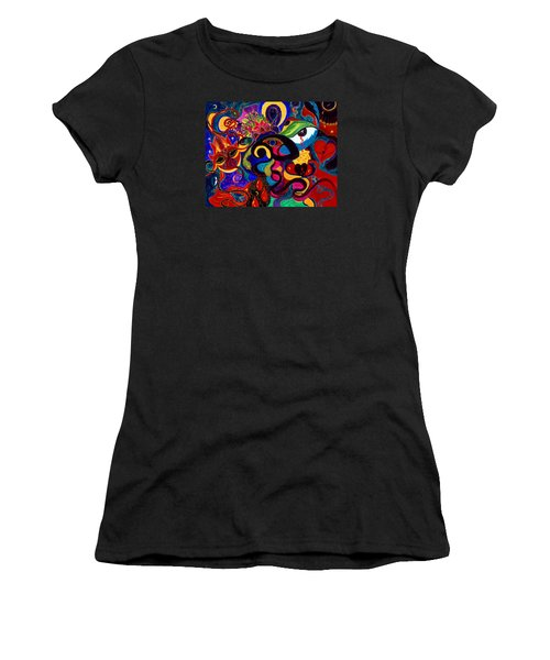 Tears Of Blood Women's T-Shirt (Athletic Fit)