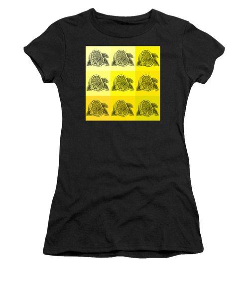Nine Shades Of Lemon Women's T-Shirt