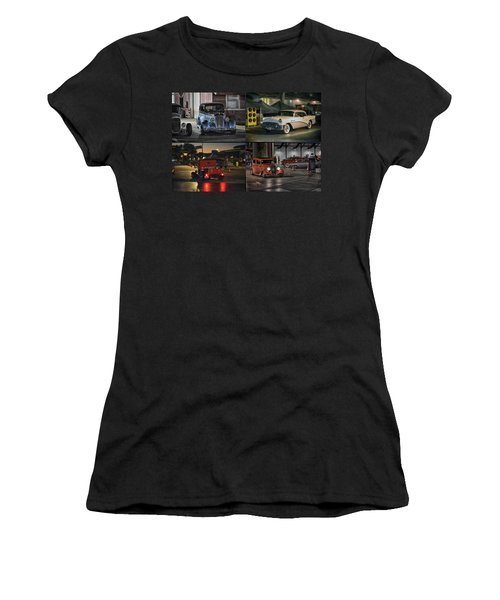 Nite Shots At Cure Women's T-Shirt (Athletic Fit)