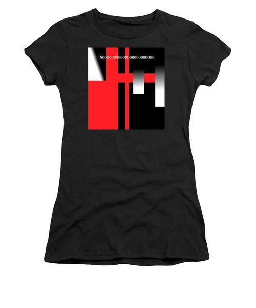 No Women's T-Shirt (Junior Cut) by Cletis Stump