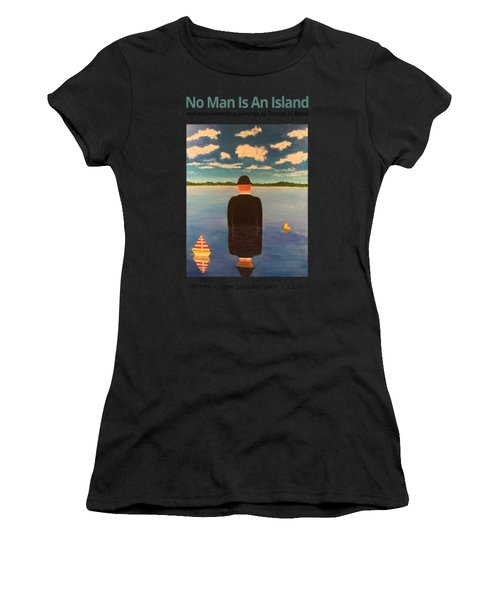 No Man Is An Island T-shirt Women's T-Shirt