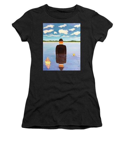 No Man Is An Island Women's T-Shirt