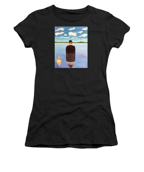 No Man Is An Island Women's T-Shirt