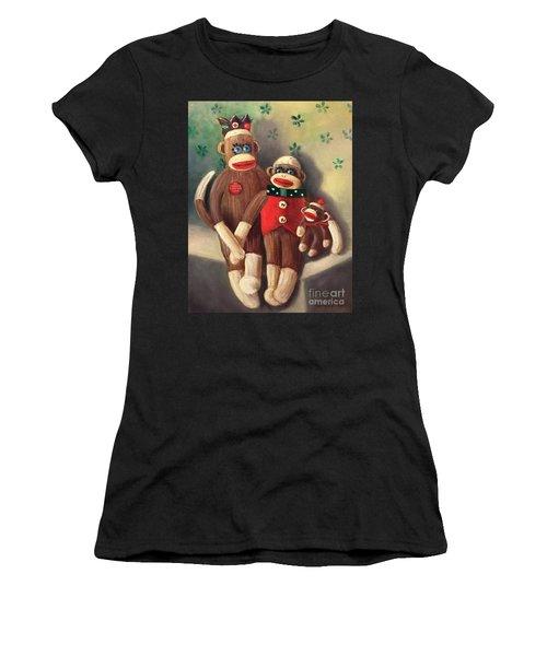 No Monkey Business Here 2 Women's T-Shirt