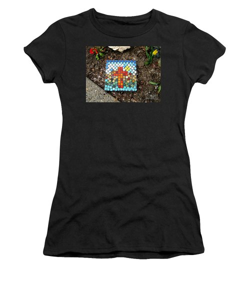 No Stepping Stone Women's T-Shirt (Junior Cut) by Marie Neder