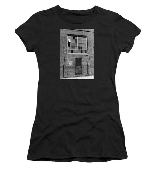 No Visitors Women's T-Shirt (Athletic Fit)