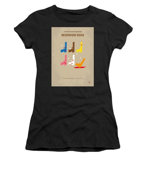No069 My Reservoir Dogs Minimal Movie Poster Women's T-Shirt