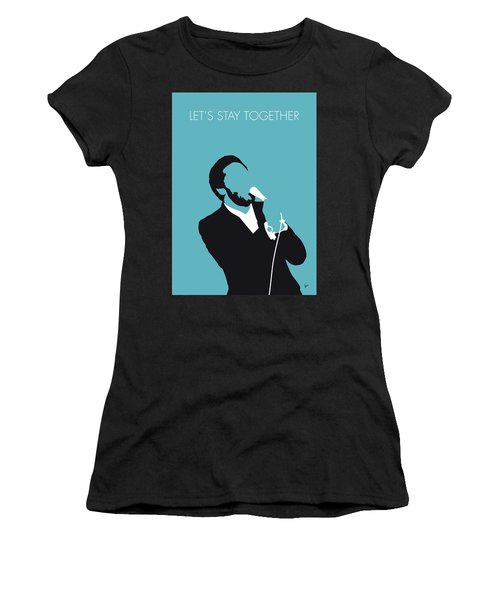 No135 My Al Green Minimal Music Poster Women's T-Shirt (Athletic Fit)