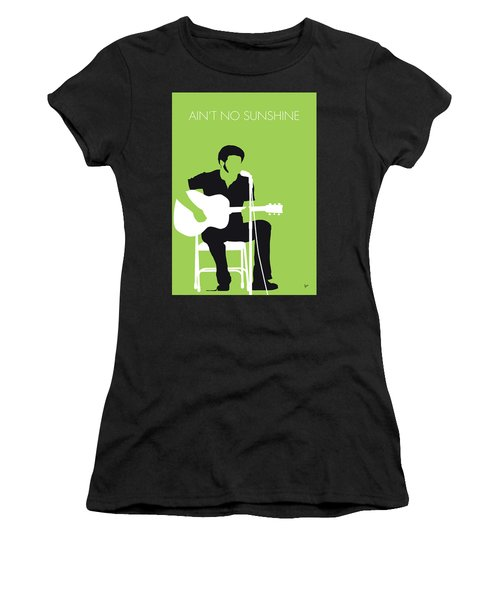 No156 My Bill Withers Minimal Music Poster Women's T-Shirt (Athletic Fit)