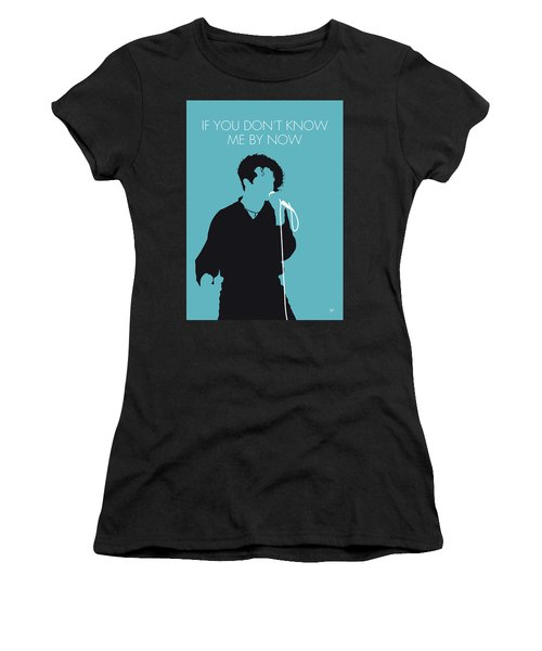 No165 My Simply Red Minimal Music Poster Women's T-Shirt (Athletic Fit)