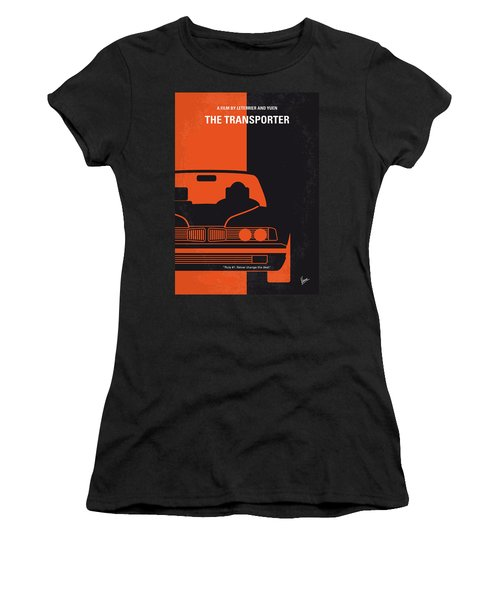 No552 My The Transporter Minimal Movie Poster Women's T-Shirt