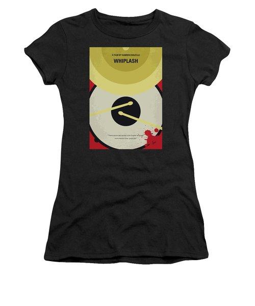 No761 My Whiplash Minimal Movie Poster Women's T-Shirt (Athletic Fit)
