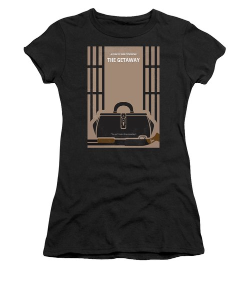 No952 My The Getaway Minimal Movie Poster Women's T-Shirt