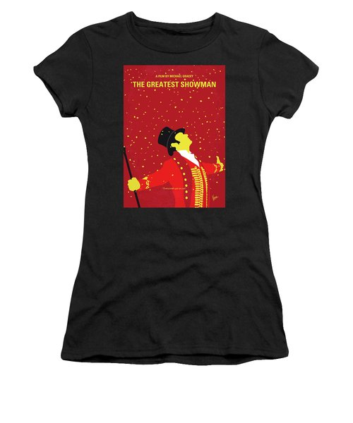 No965 My The Greatest Showman Minimal Movie Poster Women's T-Shirt