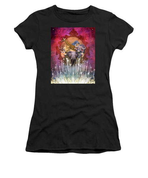 Noble Creatures Women's T-Shirt (Athletic Fit)