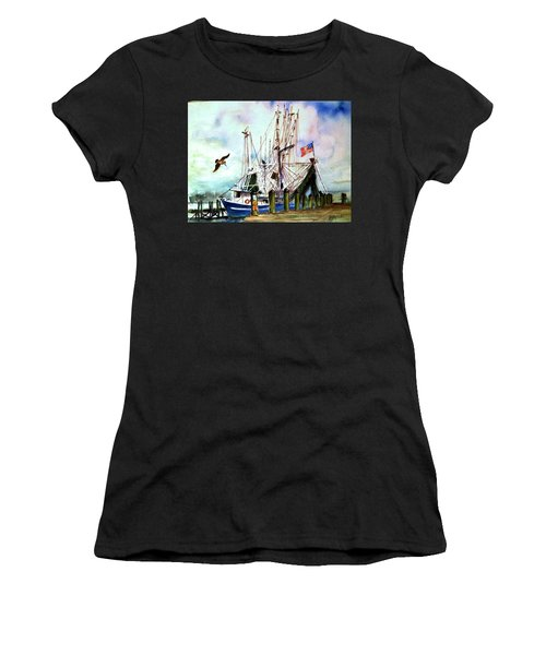 Nocho Boat Women's T-Shirt (Athletic Fit)