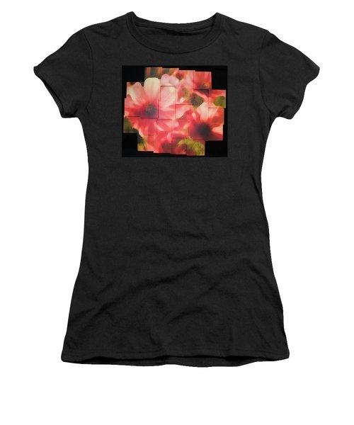 Nocturnal Pinks Photo Sculpture Women's T-Shirt