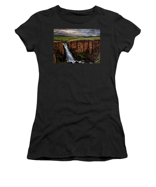 North Clear Creek Falls Women's T-Shirt (Athletic Fit)
