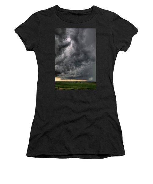 North Dakota Thunderstorm Women's T-Shirt