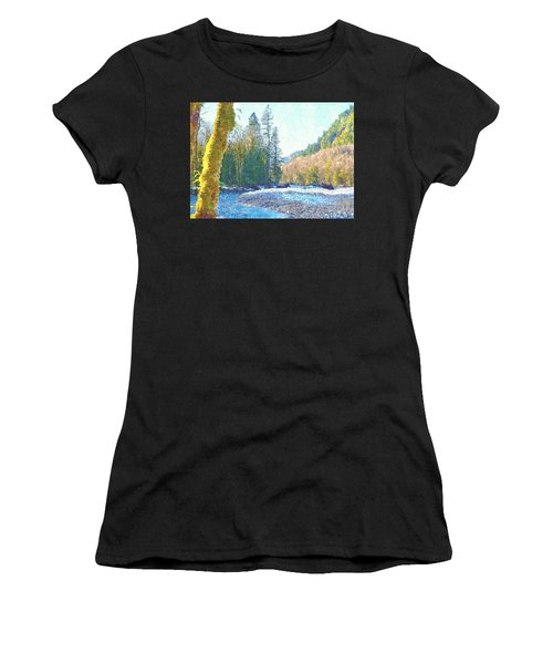 North Fork Of The Skykomish River Women's T-Shirt (Athletic Fit)