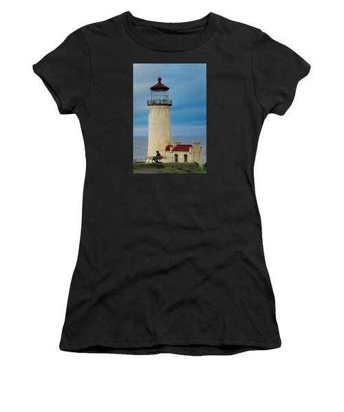 North Head Lighthouse Women's T-Shirt (Athletic Fit)