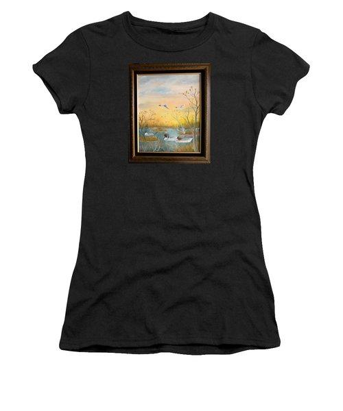 Northen Pintails Women's T-Shirt (Athletic Fit)