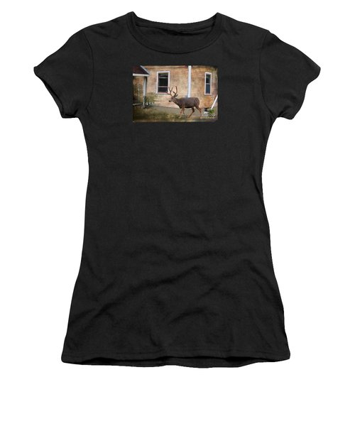 Northern Exposure Photo Paint Women's T-Shirt (Athletic Fit)