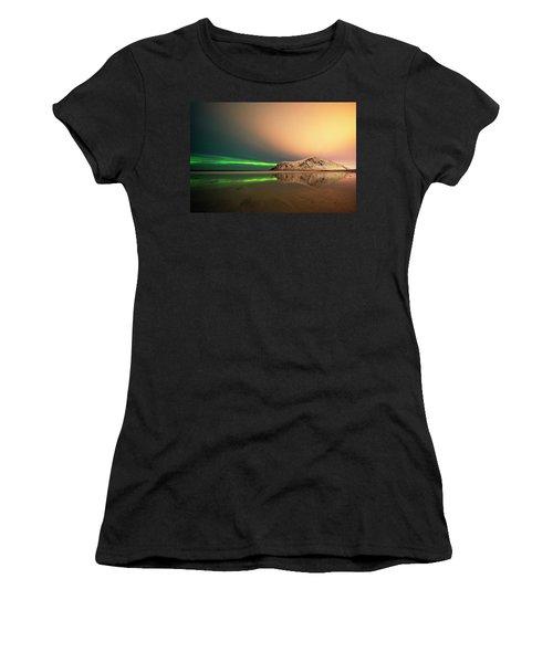 Northern Light In Lofoten Nordland 5 Women's T-Shirt
